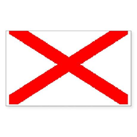 St Patrick Rectangle Sticker
