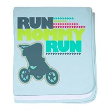 Run Mommy Run - Stroller - Baby Blanket