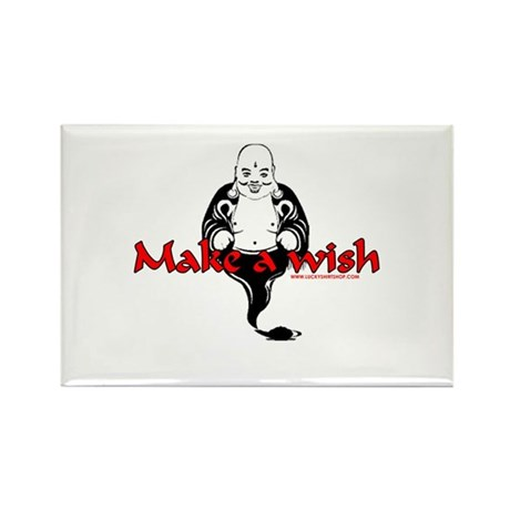 Make A Wish Rectangle Magnet (100 pack)
