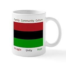 Bendera Kwanzaa Colors Mug