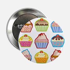 "Cute Cupcakes 2.25"" Button"