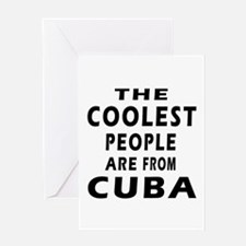 The Coolest Cuba Designs Greeting Card