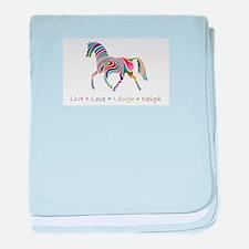 aaarainbow_horse.PNG baby blanket