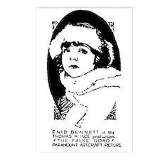 Enid Bennett Postcards (Package of 8)