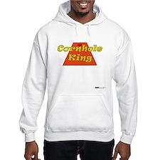 Cornhole King Hoodie
