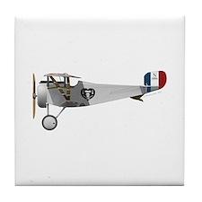 Nieuport 17 Charles Nungesser Tile Coaster