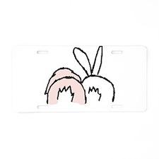 !!bunnybt3.jpg Aluminum License Plate