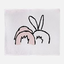 !!bunnybt3.jpg Throw Blanket