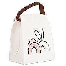 !!bunnybt3.jpg Canvas Lunch Bag