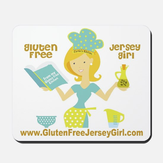 GF jersey Girl Mousepad