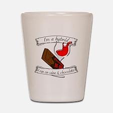Wine Chocolate Hybrid Shot Glass
