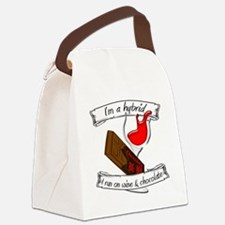 Wine Chocolate Hybrid Canvas Lunch Bag