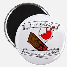 Wine Chocolate Hybrid Magnet