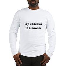My Husband Is a Hottie Long Sleeve T-Shirt