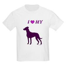 Catahoula Plum Kids T-Shirt