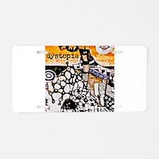 Modern Art Aluminum License Plate