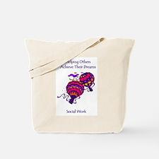 Funny Social work month Tote Bag