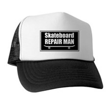 SKATEBOARD REPAIR MAN Trucker Hat