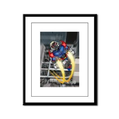 jump jetcolor.jpg Framed Panel Print