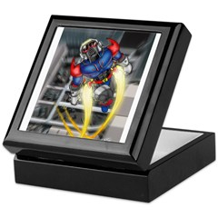 jump jetcolor.jpg Keepsake Box