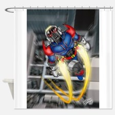 jump jetcolor.jpg Shower Curtain
