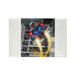 jump jetcolor.jpg Rectangle Magnet
