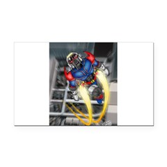 jump jetcolor.jpg Rectangle Car Magnet