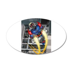 jump jetcolor.jpg Wall Decal