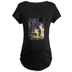 jump jetcolor.jpg Maternity T-Shirt
