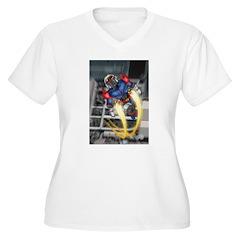 jump jetcolor.jpg Plus Size T-Shirt