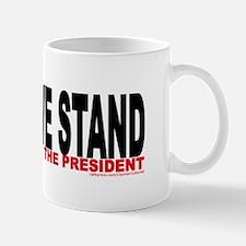 """""""...but not behind the Presid Mug"""