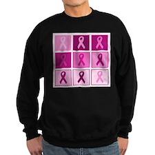 Pink Ribbon Multi pink Sweatshirt