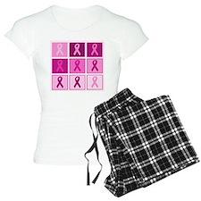 Pink Ribbon Multi pink Pajamas