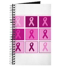 Pink Ribbon Multi pink Journal