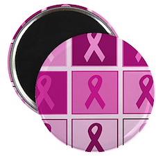 Pink Ribbon Multi pink Magnet