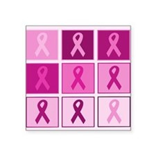 Pink Ribbon Multi pink Sticker