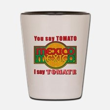Tomato Tomate Shot Glass