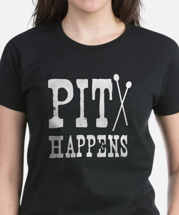 Pit Happens Women's Dark T-Shirt