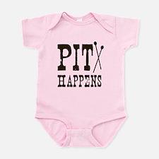 Pit Happens Infant Bodysuit