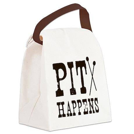 Pit Happens Canvas Lunch Bag