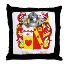 Gaillard Coat of Arms (Family Crest) Throw Pillow