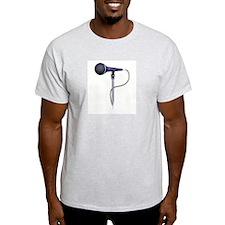 MICROPHONE Ash Grey T-Shirt