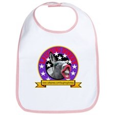 LAUGHING DONKEY LOGO Bib