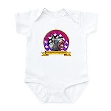 LAUGHING DONKEY LOGO Infant Bodysuit