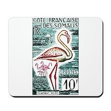 Vintage 1960 Somali Coast Flamingo Postage Stamp M