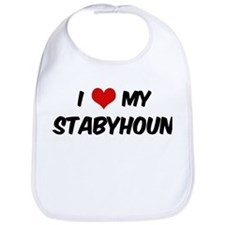 I Love: Stabyhoun Bib
