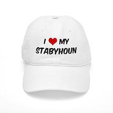 I Love: Stabyhoun Baseball Cap