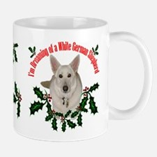 White German Shepherd Mug