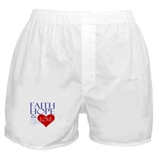 Faith Hope Love Boxer Shorts