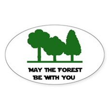 Forest Be With You Decal